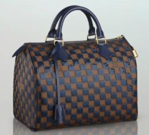 Louis Vuitton Prefall 2013 Speedy - Blue