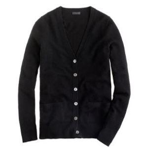 Cashmere Cardigan Sweater by JCrew
