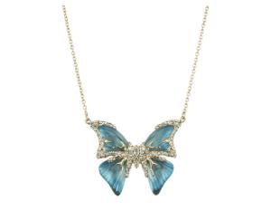 Alexis Bittar Jardin Mystere Butterfly Necklace
