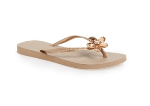Havaianas Slim Luxury Flip Flop