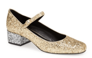 Saint Laurent Glitter Mary Jane Pump