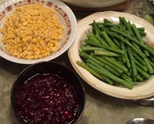 Corn and Asparagus