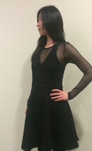 Marc by Marc Jacobs Jayden Sheer-Underlay Suspender-Strap Dress