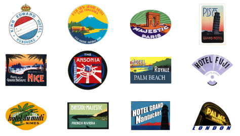 My LV World Tour - Grand Hotels Patches