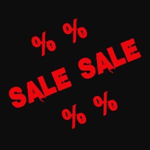 * % % SALE
