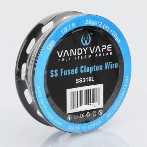 Vandy Vape - Fused Clapton Wire SS316L