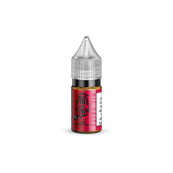 Ohm Brew Rockin Raspberry Sorbet 10ml Nic-Salt E-Liquid