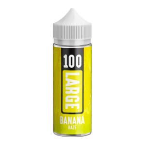 Large Juice 100 Banana Haze 100ml Shortiflll E-Liquid
