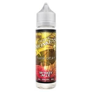 Twelve Monkeys Congo Cream 50ml Shortfill E-Liquid