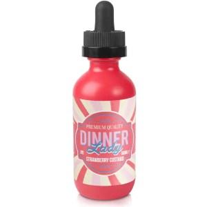 Dinner Lady Strawberry Custard 50ml Shortfill E-Liquid