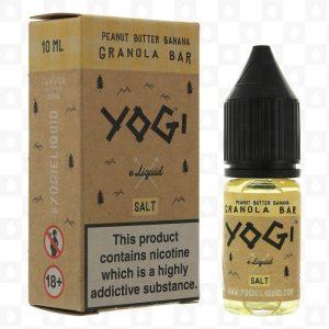 Yogi Peanut Butter Banana Granola Bar 10ml Nic Salt E-Liquid