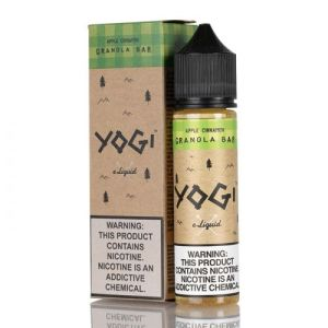 Yogi Apple Cinnamon Granola Bar 50ml Shortfill E-Liquid