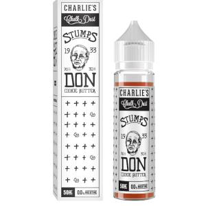 Don Cookie Butter By Charlie's Chalk Dust 50ml Shortfill E-Liquid