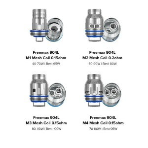 FreeMax 904L M Mesh Replacement Coils