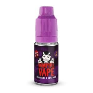 Vampire Vape Rhubarb & Custard 10ml E-Liquid