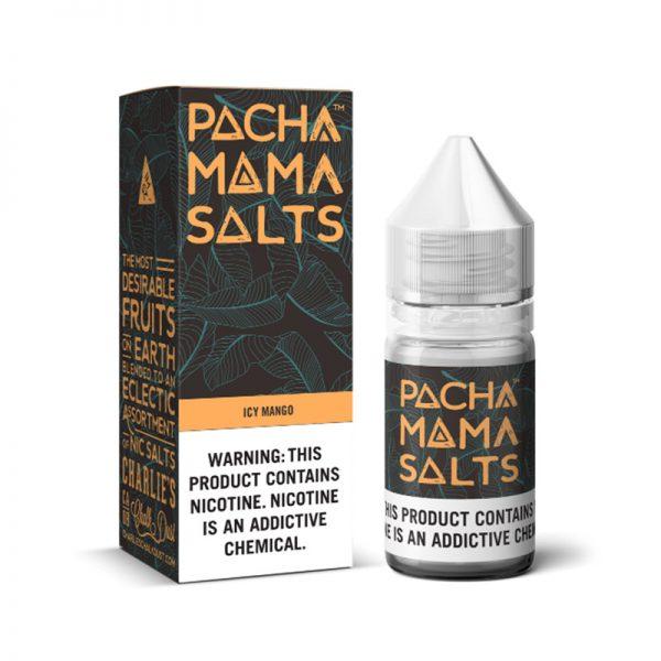 Icy Mango Nic Salt E-Liquid By Pacha Mama