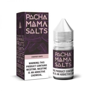 Starfruit Grape Nic Salt E-Liquid By Pacha Mama