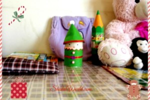 Christmas craft-85 DIY elf stationary box