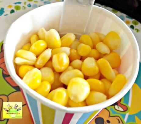 Basic corn salad/ chaat
