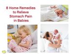 Home remedies for stomach pain in baby