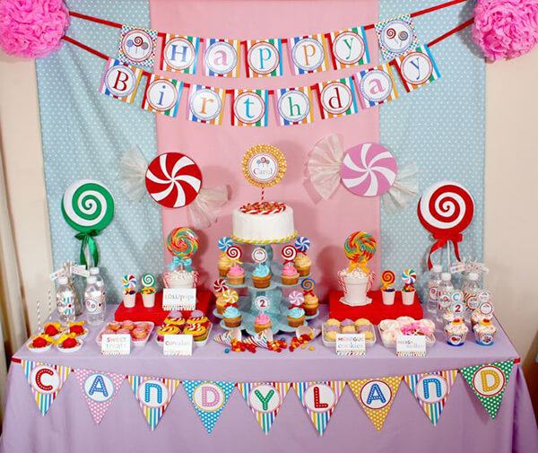 Unique First Birthday Party Ideas For Girls No Princess Cartoon Theme