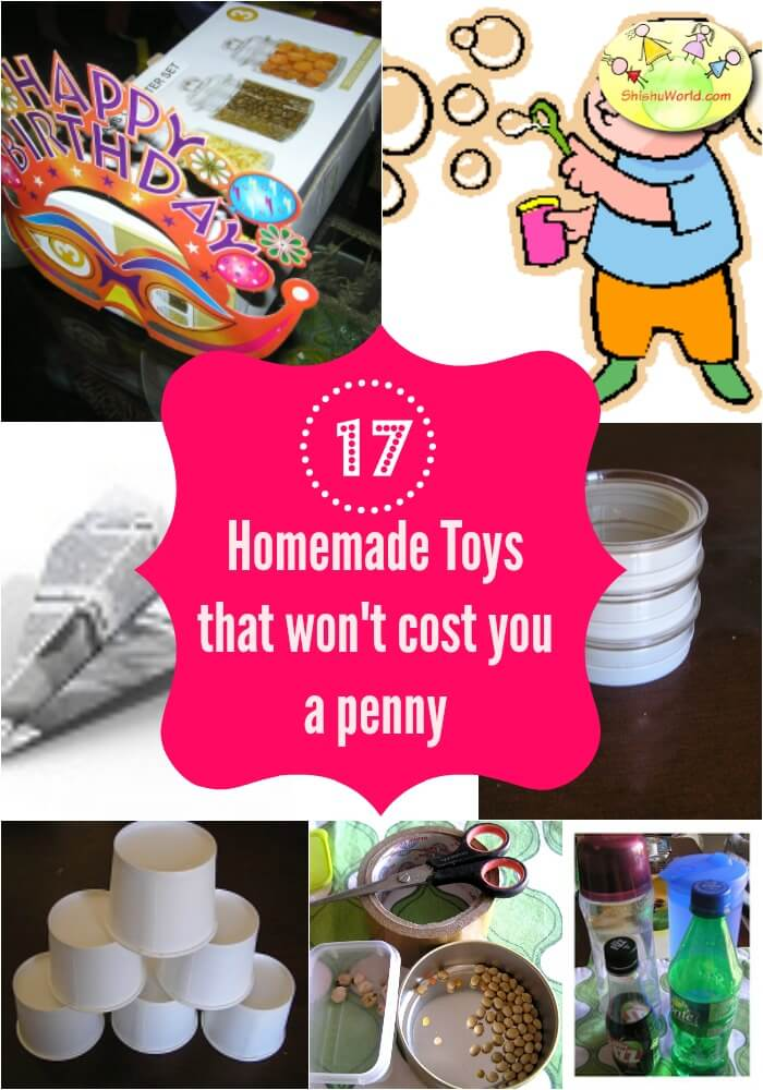 17 homemade toys for baby, toddler