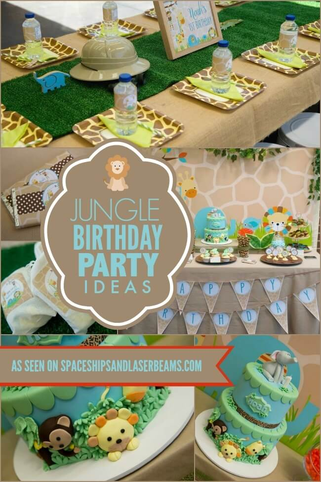 Unique First Birthday Party Ideas For Girls No Princesscartoon Theme