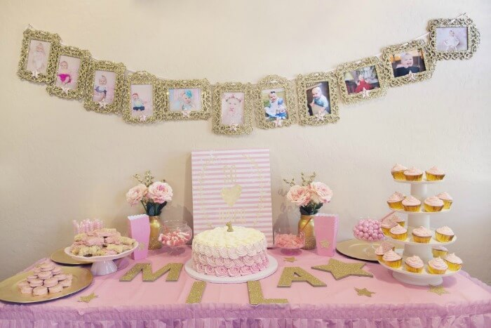 Unique First Birthday Party Ideas for GirlsNo PrincessCartoon theme