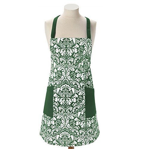green grilling apron