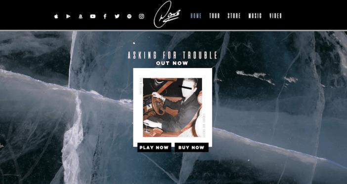 Dan Bettridge music website