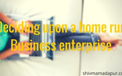 Deciding upon a home run Business enterprise