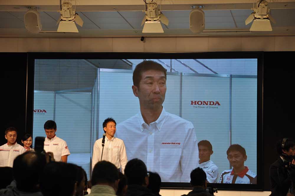 小川友幸選手から紹介される、HRCクラブMITANI監督・三谷知明氏