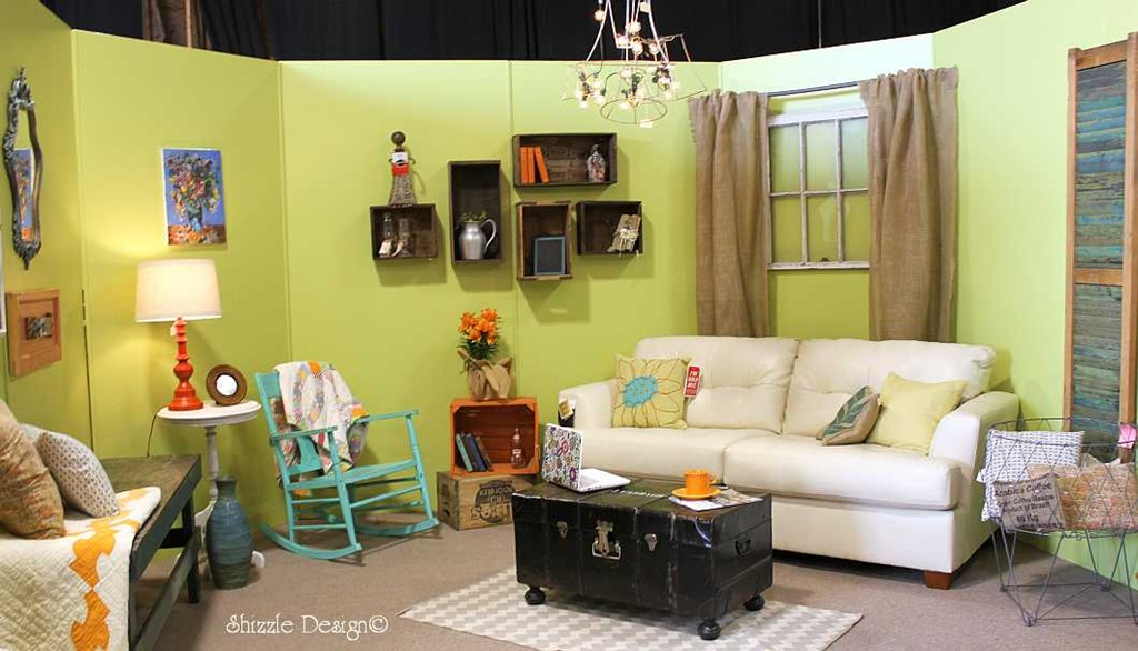 shizzle design design gallery room competition using flea market picks