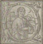 Marin Barleti, në kopertinën e bibliografisë 'Skënderbeu'