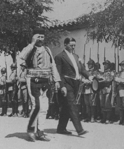 Sylço Begu dhe Maliq Bushati, duke shkuar tek Zogu