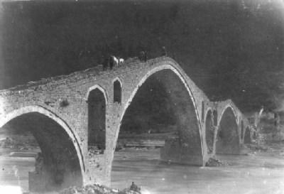 Ura e Vezirit në hyrje të Kukësit të vjetër, ndërtuar nga Bushatlinjtë