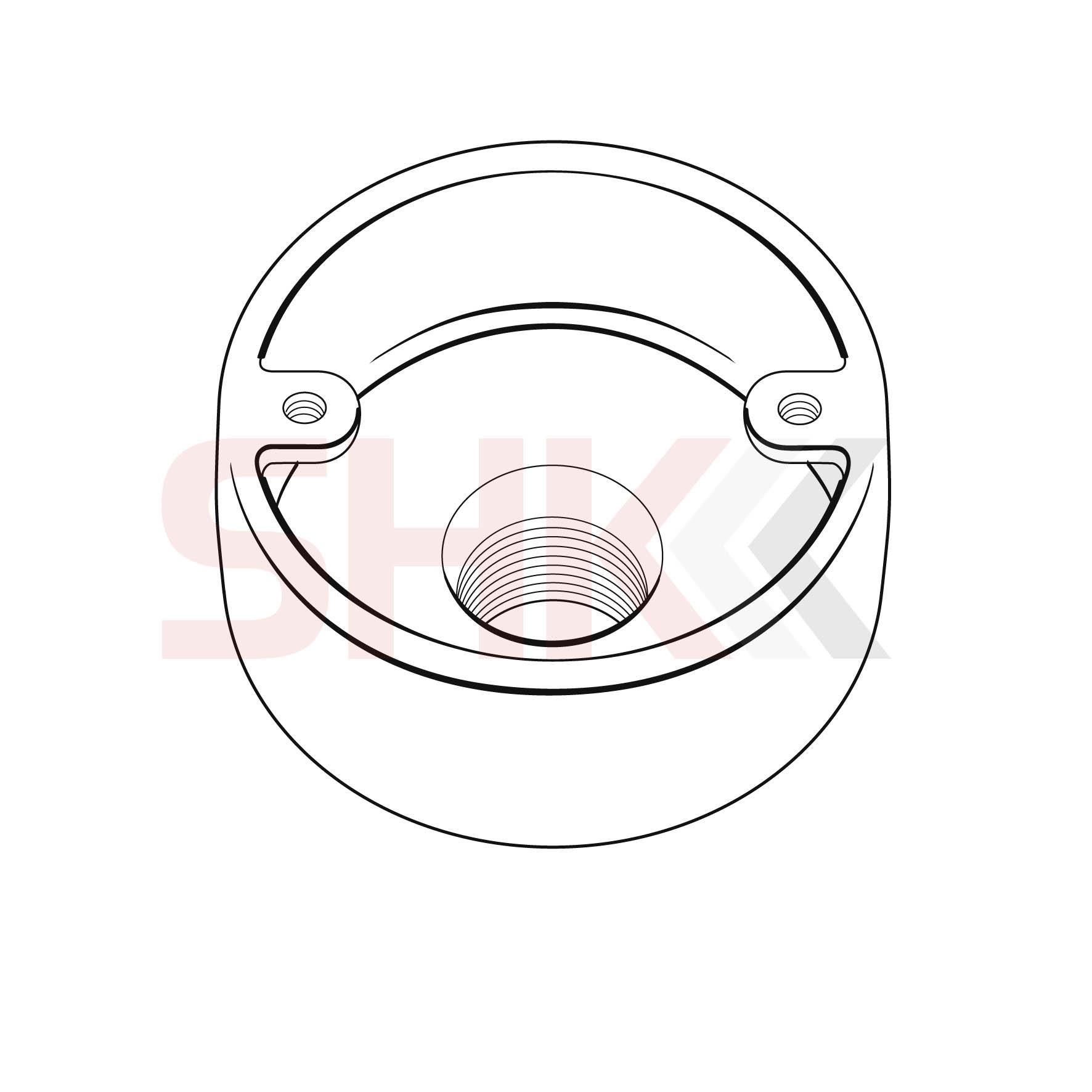 20mm Circular Junction Box Back Outlet Shk