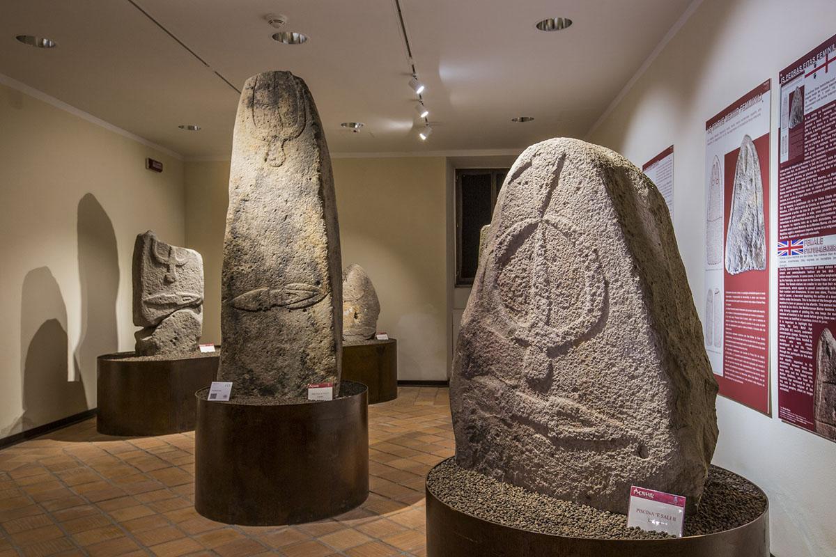 Menhir Museum, Laconi. 📷 Elisabetta Loi Sardinia Photo Event. License CC BY-NC-SA