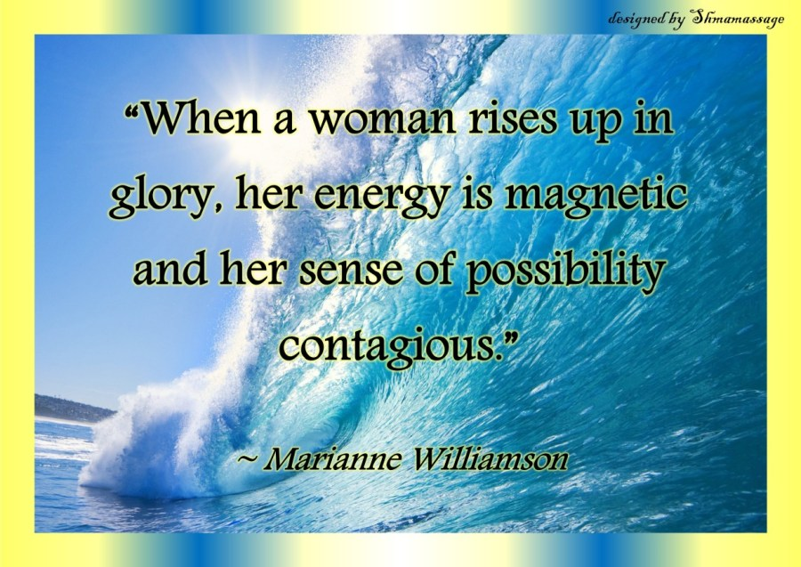 Quote Marianne Williamson designed by Shmamassage, massagesaon Rotterdam
