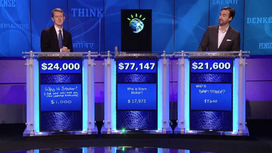 ibm watson playing jeopardy - Supercomputers: Designed for humans(?!)
