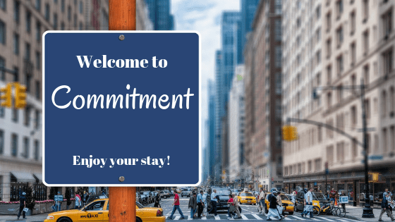 welcome to commitment signboard 1 - Home