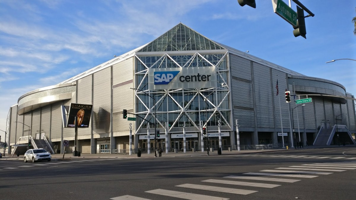 sap center san jose - Silicon Valley in pictures