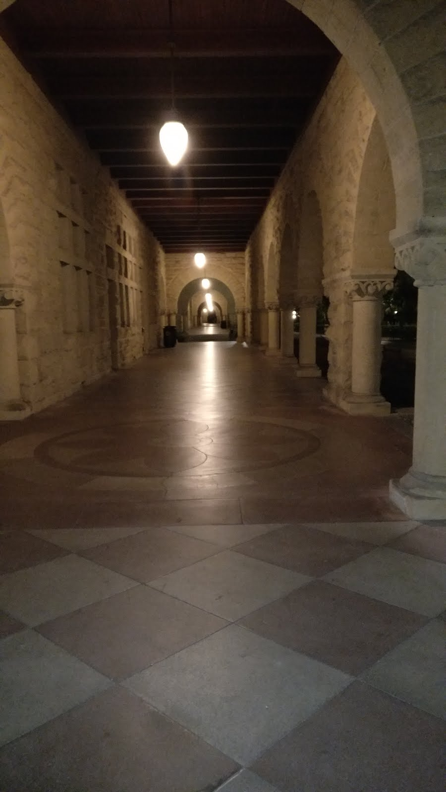 stanford corridor - Silicon Valley in pictures