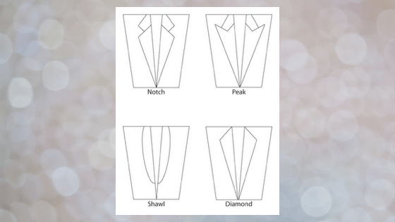 types of suit jacket lapels - How to buy the perfect Men's Suit? 7 things to consider