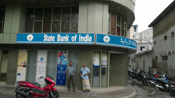 state bank of india sbi in male maldives - Travelogue - Maldives, a reminder that 70% of Earth is Water