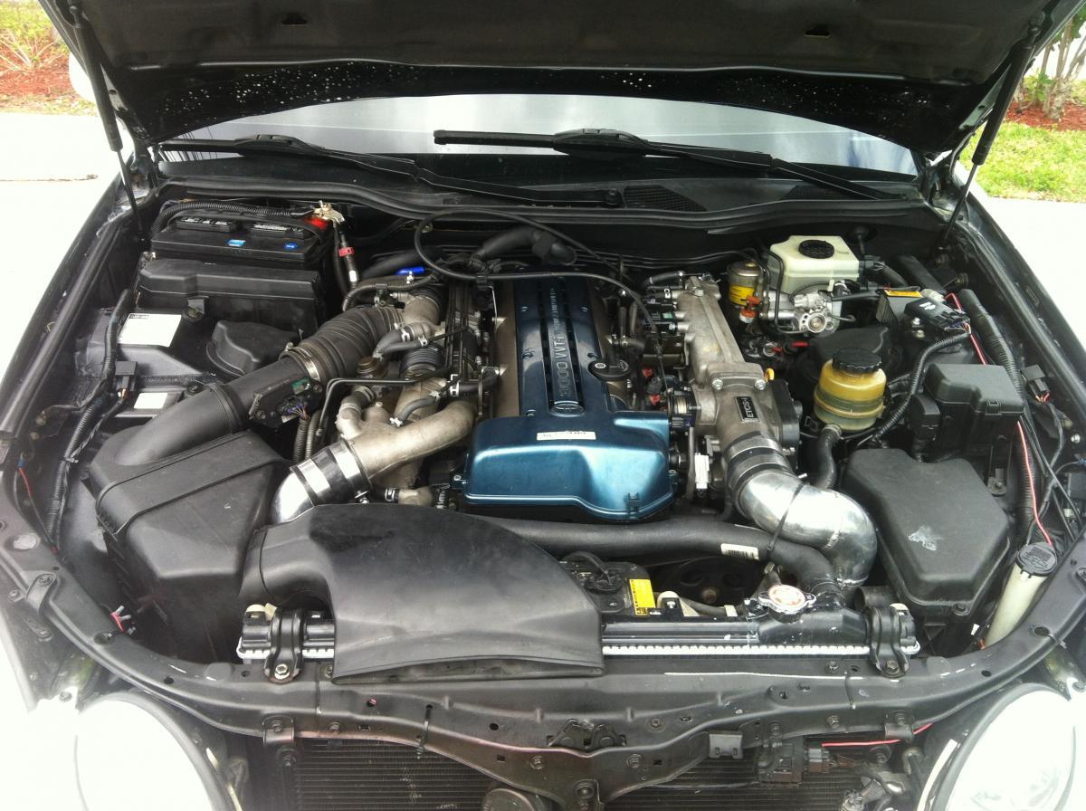 JZS161 Toyota Aristo engine wiring - Shoarmateam