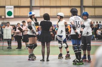 Roller Derby - Sexpos de Montréal vs Duchesses de Québec