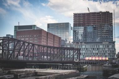 Port Boston ocean industrial