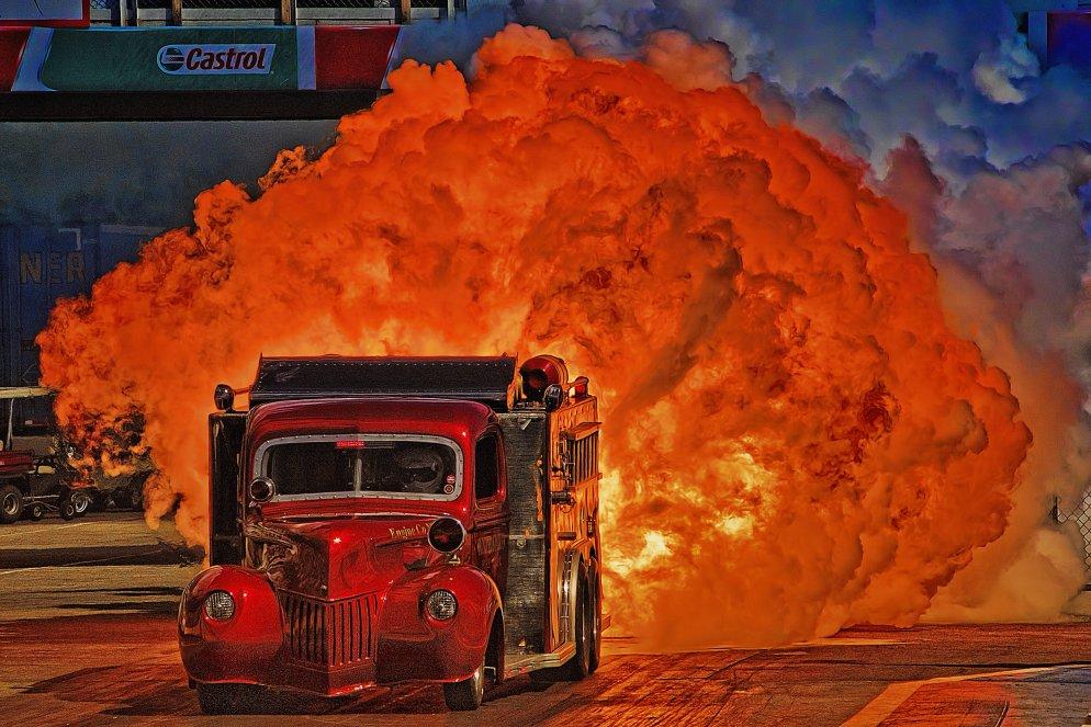 Shockwave And Flash Fire Jet Trucks Aftershock Jet Fire