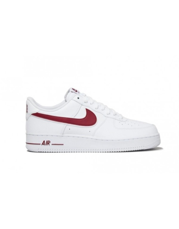 Nike Air Force 1 '07 White / Gym Red UK Sizes 6 - 11 ...